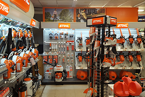 stihl showroom