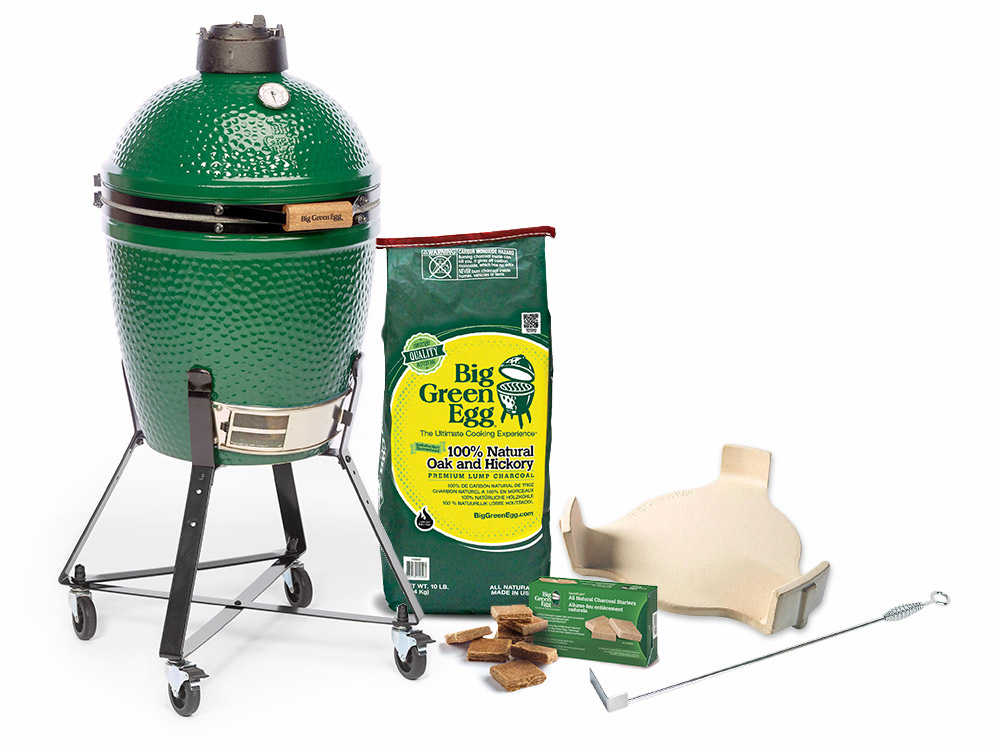 Large Big Green Egg Starter Kit